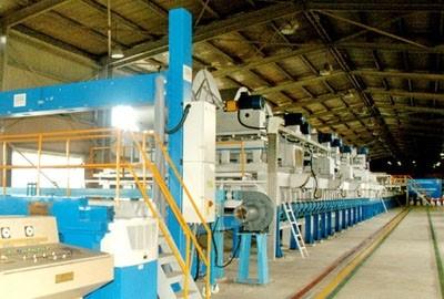 Nhóm lò khởi động Nhà máy Kính nổi Viglacera tại Bình Dương. | Vật ...