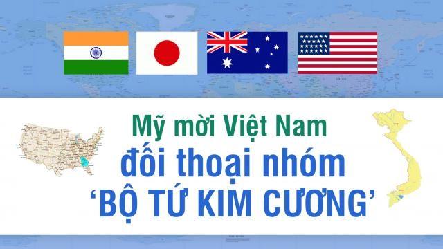 Mỹ mời Việt Nam đối thoại nhóm 'Bộ tứ kim cương' nhằm tái cấu trúc ...