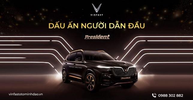 VinFast President SUV hạng Sang mới của VinFast (Lux - V8)