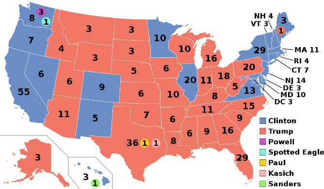 Bầu cử tổng thống Hoa Kỳ, 2016 – Wikipedia tiếng Việt