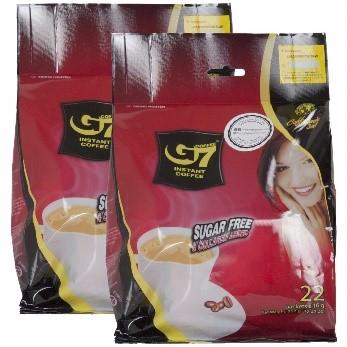 Amazon.com : Trung Nguyen G7 Instant Coffee - 2-Pack Set of 22 Instant  Coffee Packets - 44-Piece Set of 3-in-1 Collagen & Sugar-Free Coffee - Rich  Taste, Dark Roast Instant Coffee Singles -