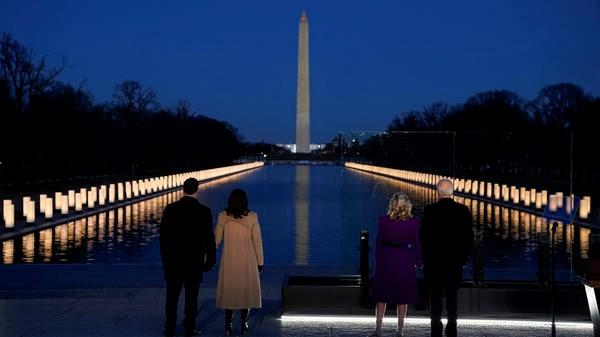 400 Lights, For 400,000 Dead, Illuminate Lincoln Memorial Reflecting Pool |  Michigan Radio