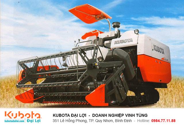 Máy gặt Kubota DC70 Plus giá bao nhiêu? - Kubota Đại Lợi